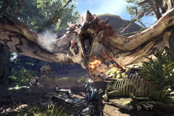 Monster Hunter: World, one of the best Video Games of 2018